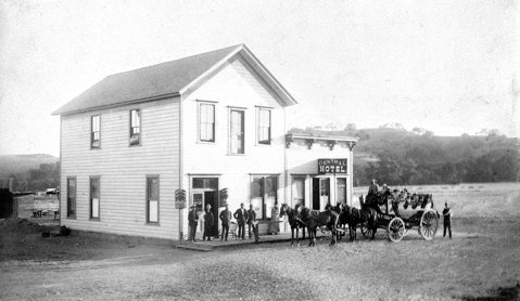 Mattei's Tavern circa 1888.