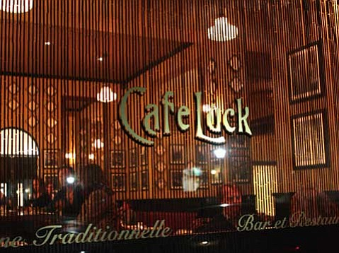 Café Luck's duck confit is an affordable find.
