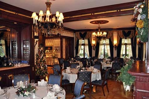 Disneyland's ultra-exclusive restaurant, Club 33, offers decadent dining options.