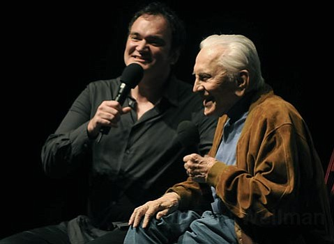 Quentin Tarantino & Kirk Douglas hold a Q & A after the screening Posse