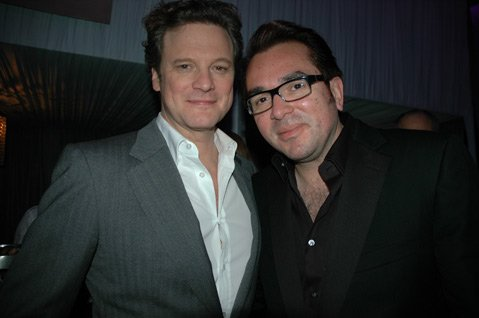 Colin Firth and Roger Durling
