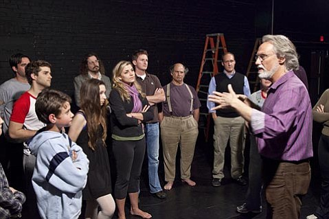 John Blondell worked closely with his cast to develop the concept for Santa Barbara Theatre's upcoming production of <em>Our Town</em>.