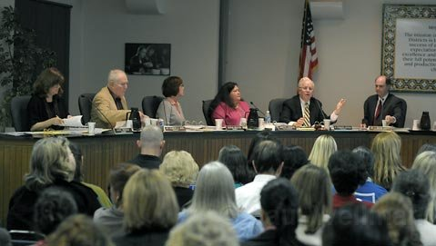 <strong>Pain and personnel:</strong>  Cutting its general fund budget for the fourth time this year, the Santa Barbara School Board was forced to terminate dozens of teaching positions and various other district employee positions this week.