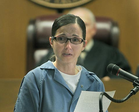Cathy Latou apologizes to the Makela family and Santa Barbara Olive Co. employees before being sentenced	 Mar. 2, 2010