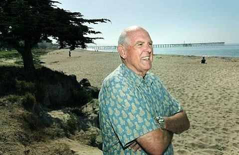 Dan Secord at Goleta Beach in July 2009