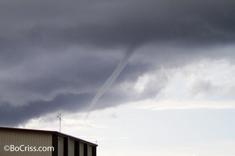 Funnel cloud.