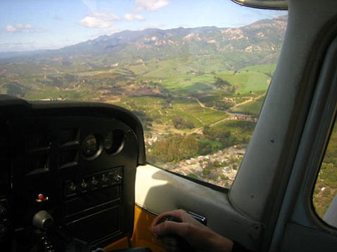 """Spitfire's """"discovery flight"""" provided me with a new perspective on the Goleta Valley and on the passion underlying an unusual small business."""
