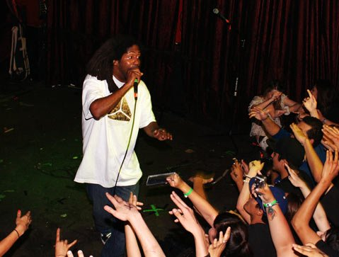 Living Legends member MURS delivered a no-nonsense solo set during his Sunday-night stop at Velvet Jones.