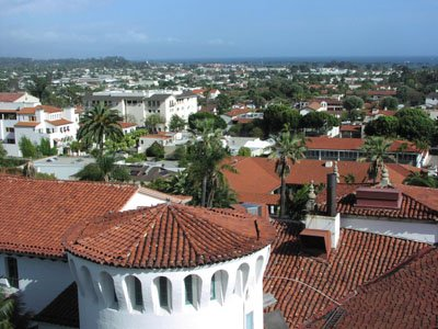 Rooftops of Santa Barbara