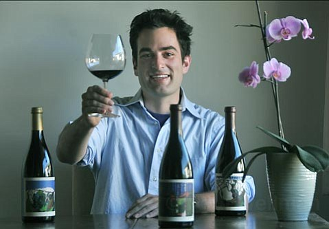 <strong>FINDING FRENCH: </strong> Although still a young winemaker, Gavin Chanin is focused on making wines inspired by the Old World. As such, he's one of the many protégés of Jim Clendenen and Bob Lindquist currently rising to the fore in Santa Barbara County.