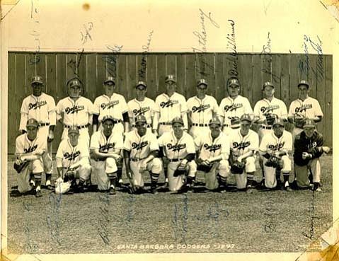 Brooklyn Dodger farm club, the Saints.