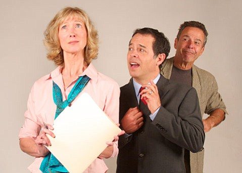 Left to right: Nancy Nufer, Dan Gunther, and Robert Lesser.