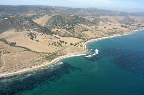 Gaviota coastline.