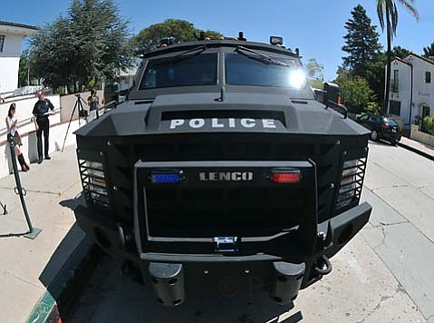 The Special Purpose Vehicle, a 2010 Lenco Bearcat weighing in at 18,000 pounds and valued at just over $240,000, will boost Santa Barbara SWAT and CRNT.