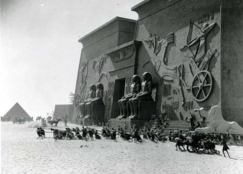 Part of the set of <em>The Ten Commandments</em>, Guadalupe Dunes, 1923.