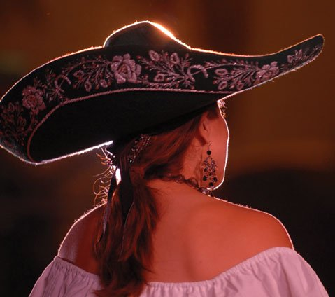 "Each Fiesta, the S.B. County Courthouse Sunken Gardens come alive with music and dance from Spain and Mexico during the variety show Las Noches de Ronda (""Nights of Gaiety"")."