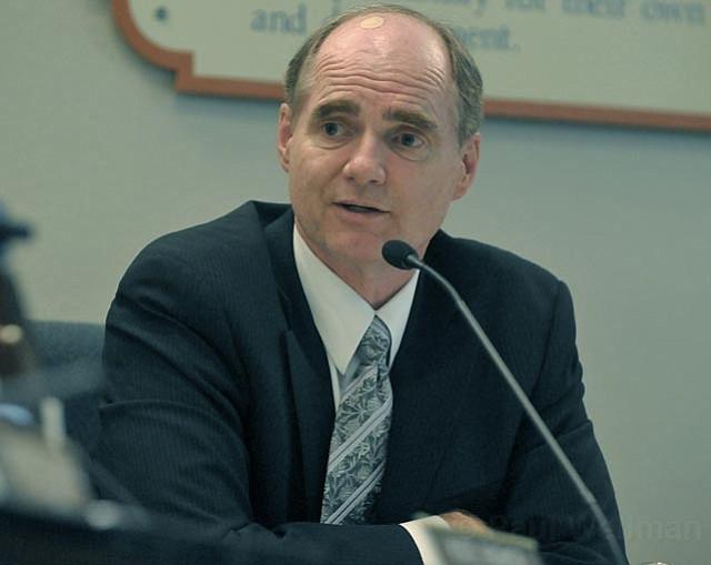 District Superintendent Brian Sarvis