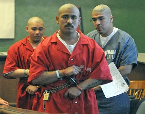 <strong>From left:</strong>  Ricardo Nava, Omar Ramos, and Erick Roman were all sentenced to more than 17 years in prison, stemming from Gator Roll investigations.