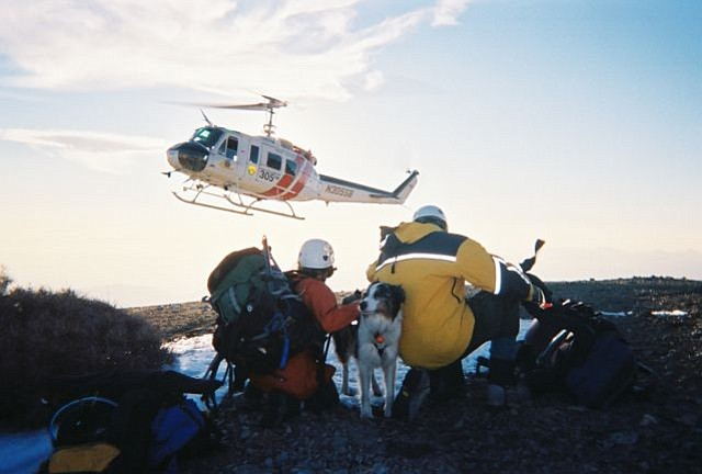 Santa Barbara Search and Rescue in action
