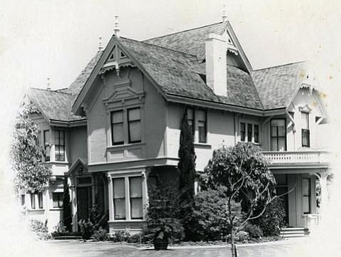Charles Fernald mansion at 412 West Montecito Street.