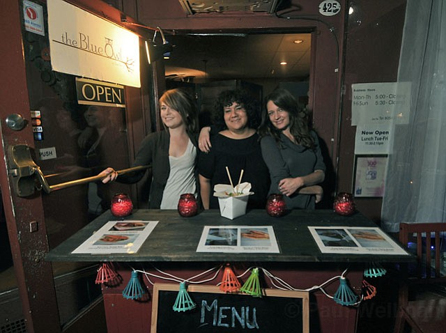 (L to R) Tara Sim, Cindy Black, and Jenny May Holmstrom