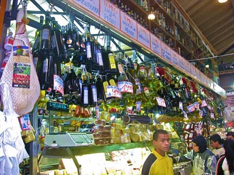 Thanks to Italian immigrants, a market in São Paulo offers what I never before thought of as delicacies: quality olive oil, cheese, and spices.