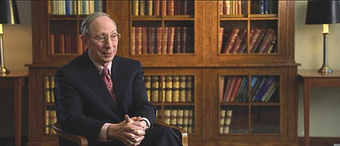 Professor Samuel Hayes's testimony helped illuminate the nation as well as director Charles Ferguson's <em>Inside Job</em>, an examination of the 2008 financial meltdown.