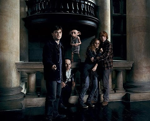 <strong>WAYFARING WIZARDS:</strong>  As the Harry Potter series wraps up, Harry, Hermione, and Ron do their best to conjure up enough magic to ward off impending doom and impeding filmic pacing.