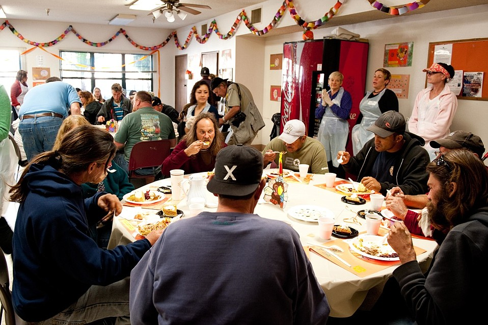 Thanksgiving at the Rescue Mission, 2010