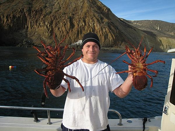 Photo of Kristopher Evens Carlsen taken by a friend during a fishing trip to San Miguel Island last year.