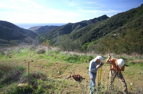 Views of the Channel Islands and the Gaviota Coast are top notch from the peak of the Baron Ranch Trail.