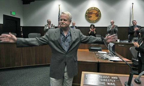 Randy Rowse appointed to the Santa Barbara City Council on December 14, 2010
