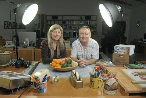 Krista Harris and Steve Brown