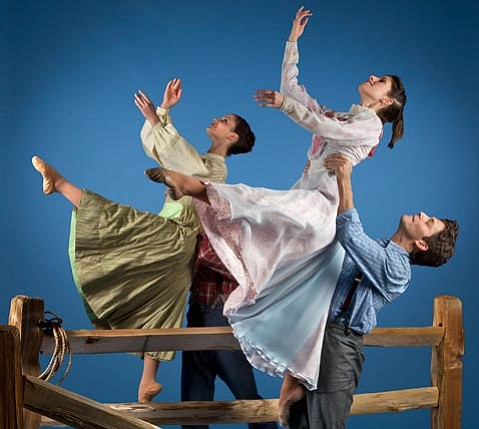 State Street Ballet performers join the Santa Barbara Symphony this weekend to celebrate the music of Aaron Copland.
