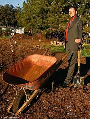 Mesa Harmony Garden President Josh Kane.