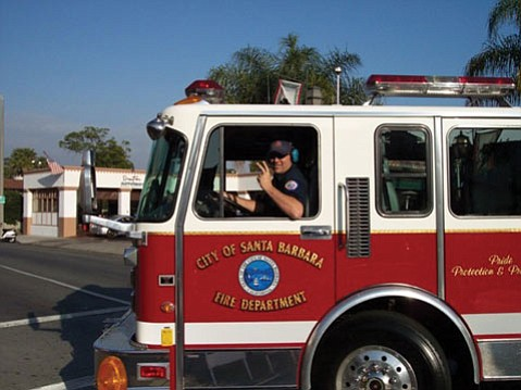 S.B. City Fire Captain Mike Moses