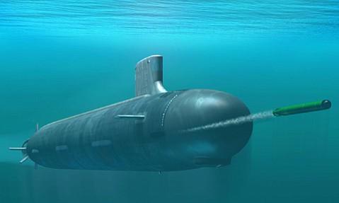 Virginia class submarine.