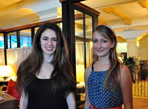 Ally Shiras and Aija Mayrock