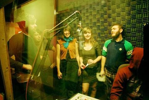 The band Lake on 5,4,3,2,Fun!