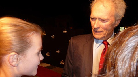 Teen Press interviewing Clint Eastwood in 2009.