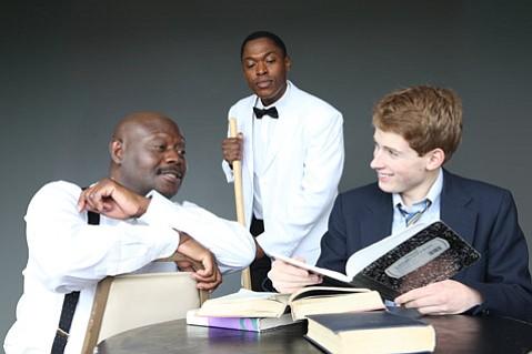 "Chris Erric Maddox, Daniel Stewart, and Anthony J. Haney star in <em>""Master Harold""... and the Boys</em>."