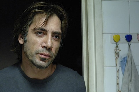 <strong>TALL, DARK, AND GUAPO:</strong>  Javier Bardem earns his Oscar nod for best actor (the first for an all Spanish-language role) in <em>Biutiful</em>, the story of a family man working in the underbelly of Barcelona.