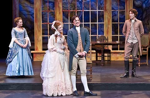 <em>She Stoops to Conquer</em> at UCSB's Hatlen Theatre