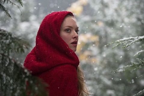 <strong>WOLF BAIT:</strong>  Amanda Seyfried fits the bill as the eponymous damsel in distress in this angsty, Twilight-esque take on <em>Red Riding Hood</em>.
