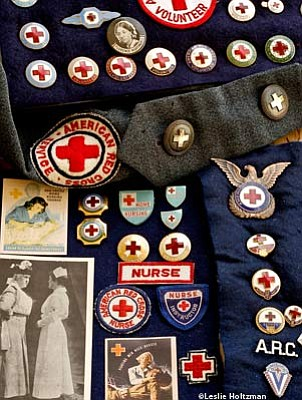 Vintage Red Cross Insignia