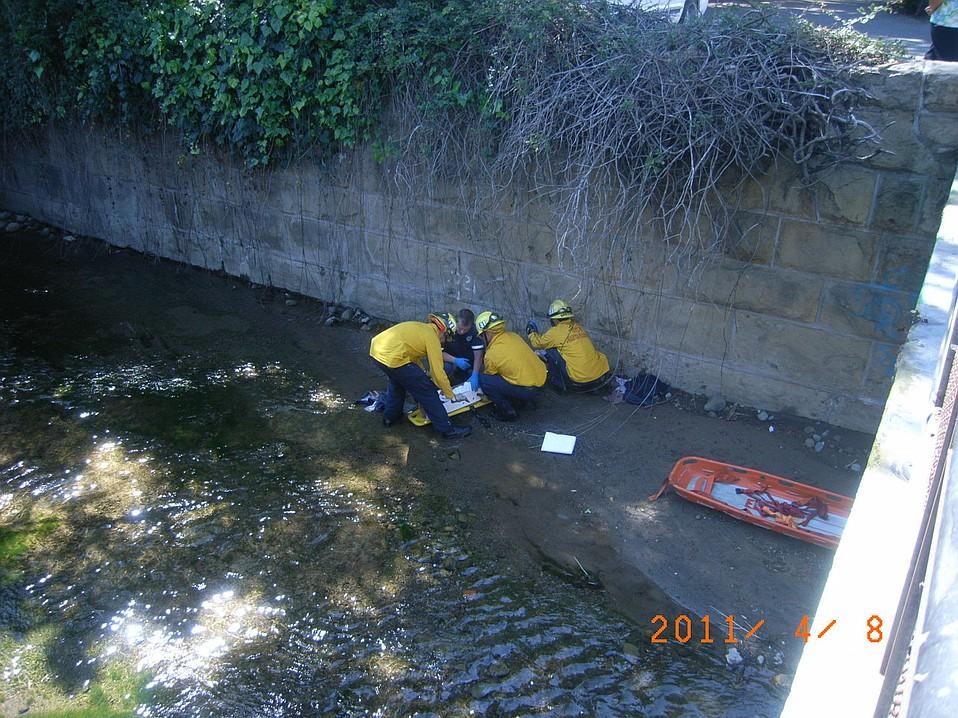 Mission Creek rescue