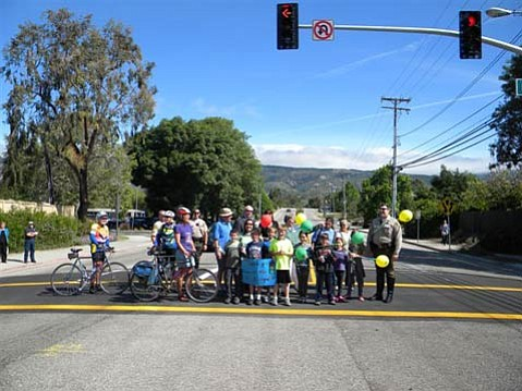 Fairview Avenue & Berkeley Road Traffic Signal Celebrated