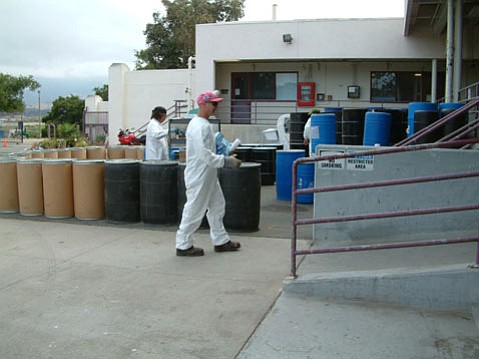 The Community Hazardous Waste Collection Center