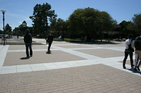 Hydro-Flo Pavingstones at UCSB