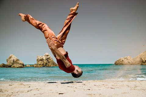 "Istanbul-based artist Sinan Temizalp, creator of ""meditative dance,"" will perform as part of the SB-ADaPT Festival."